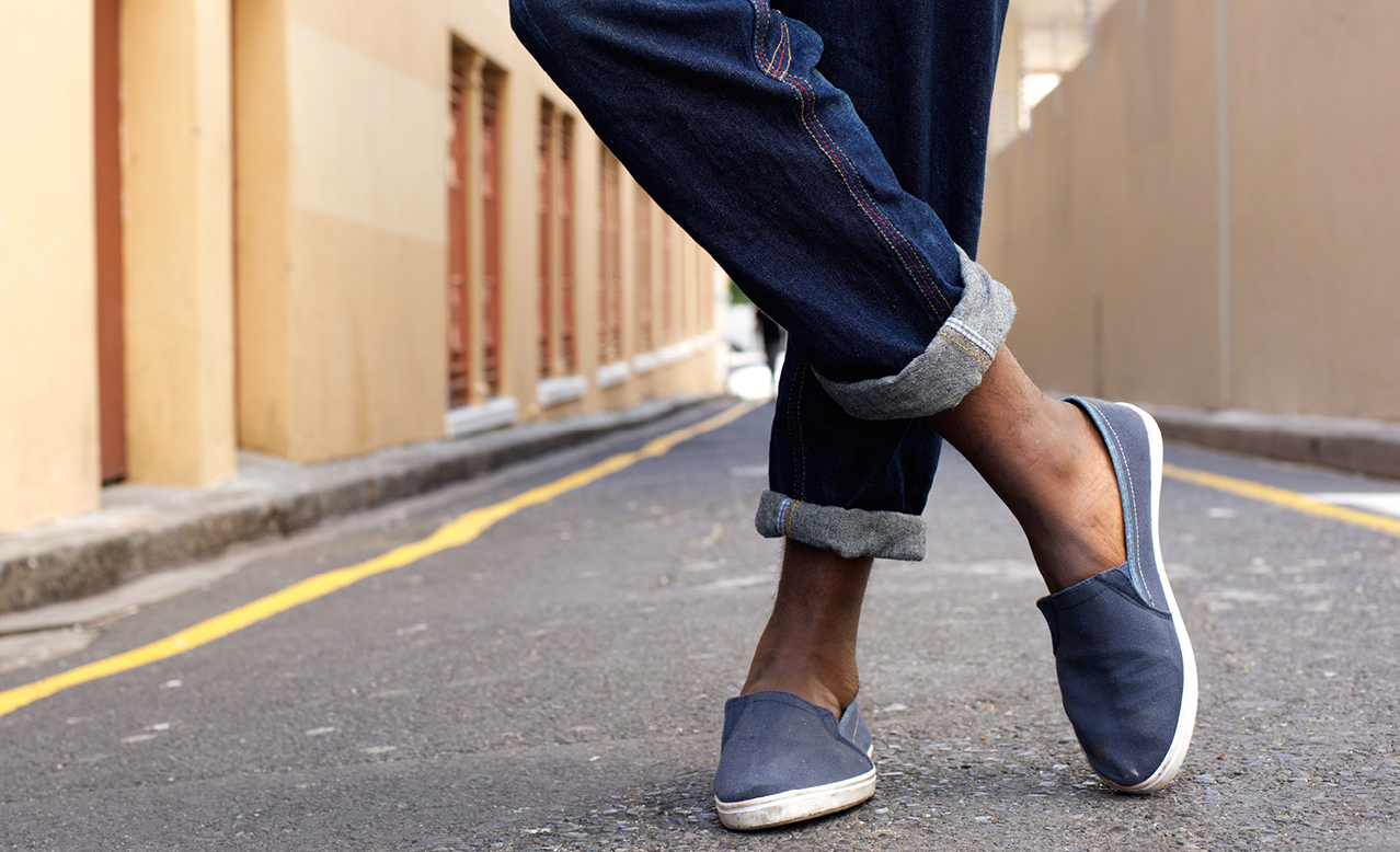 How to wear denim: up or down