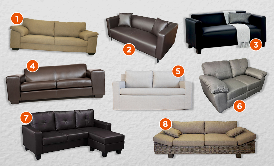 8 Amazing Couches For Under R8 000