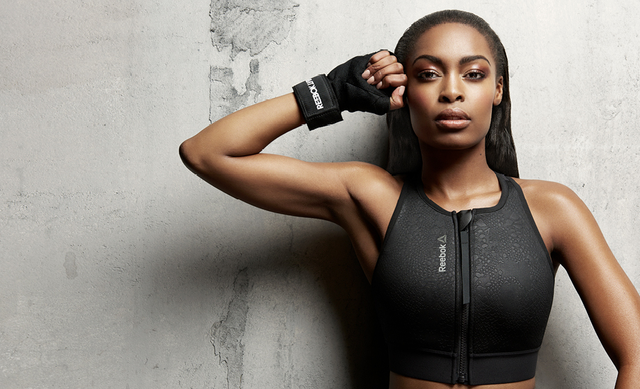 Fierce activewear with K Naomi and Reebok