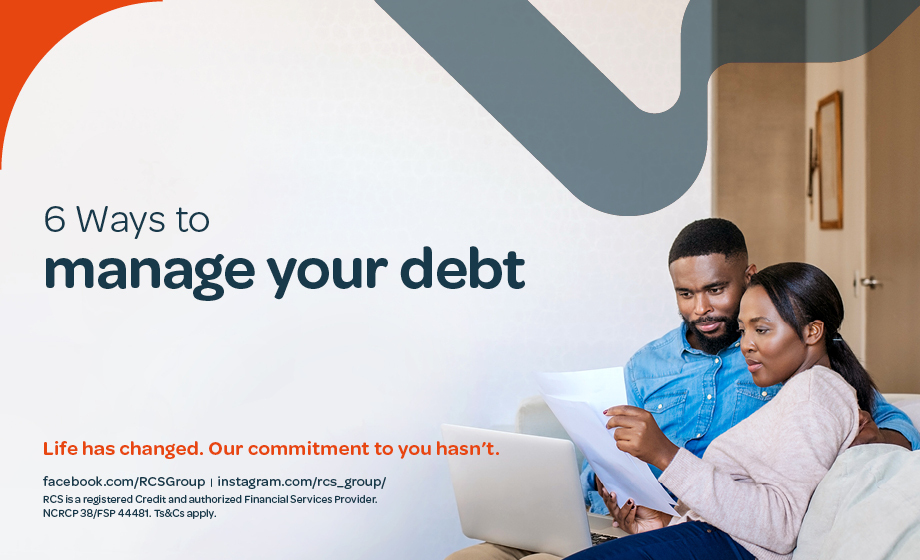 6 Ways to manage your debt