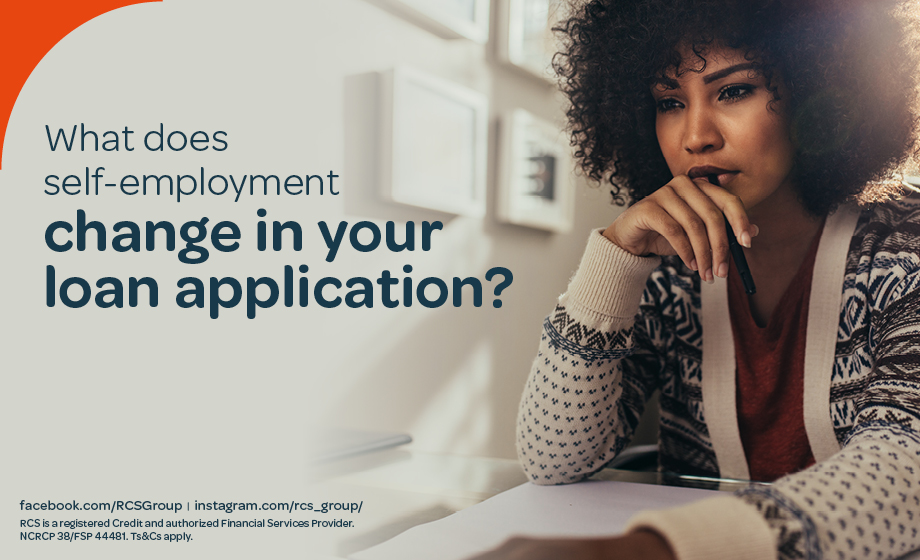 What does self-employment change in your loan application