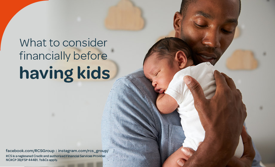 What to consider financially before having kids