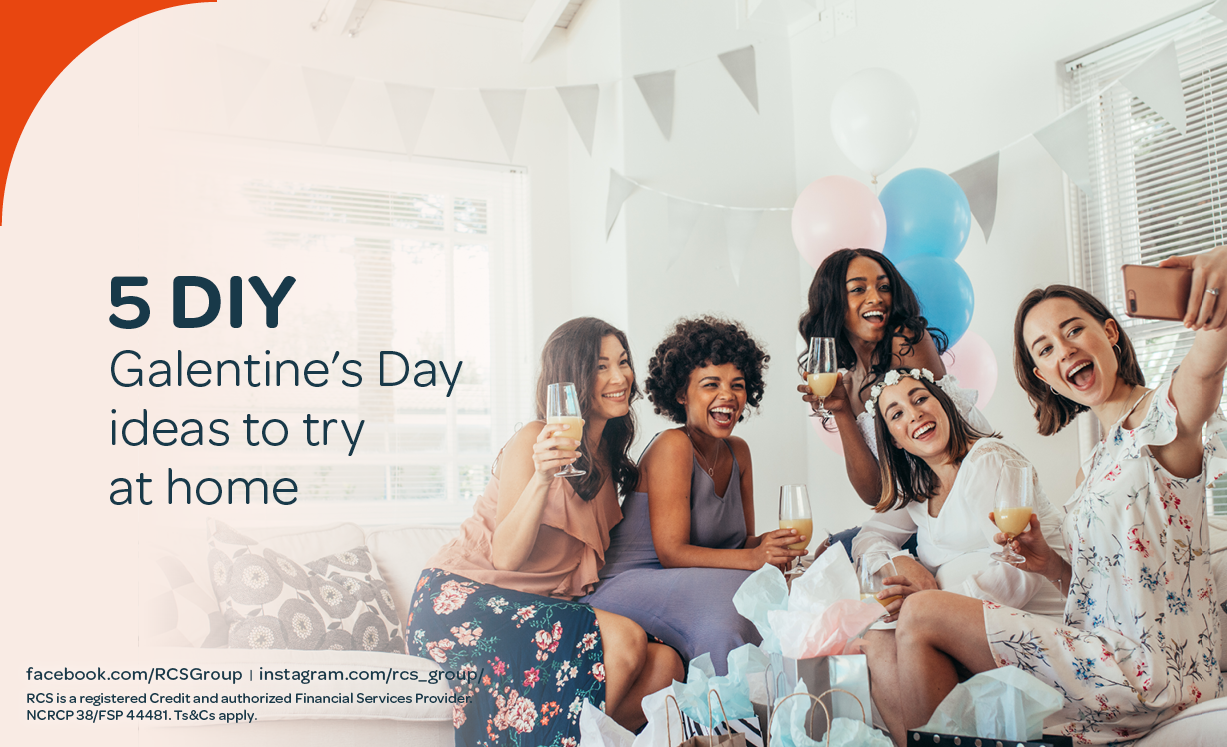 5 DIY Galentine's Day ideas to do at home