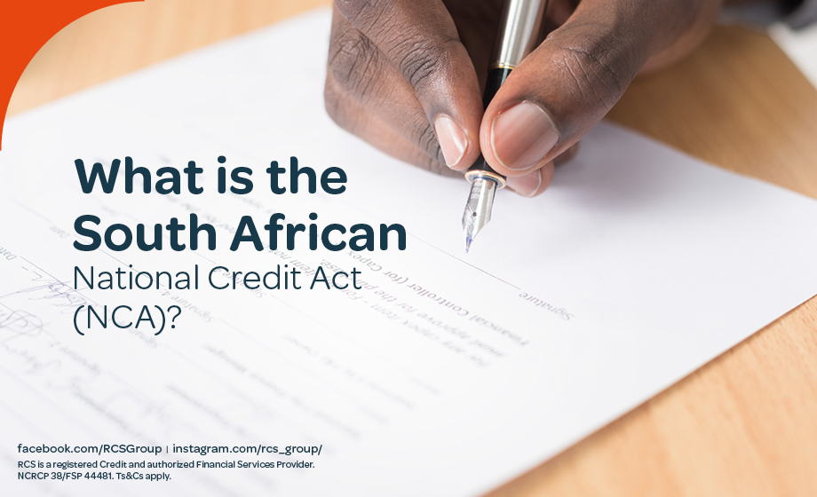 What Is the National Credit Act?