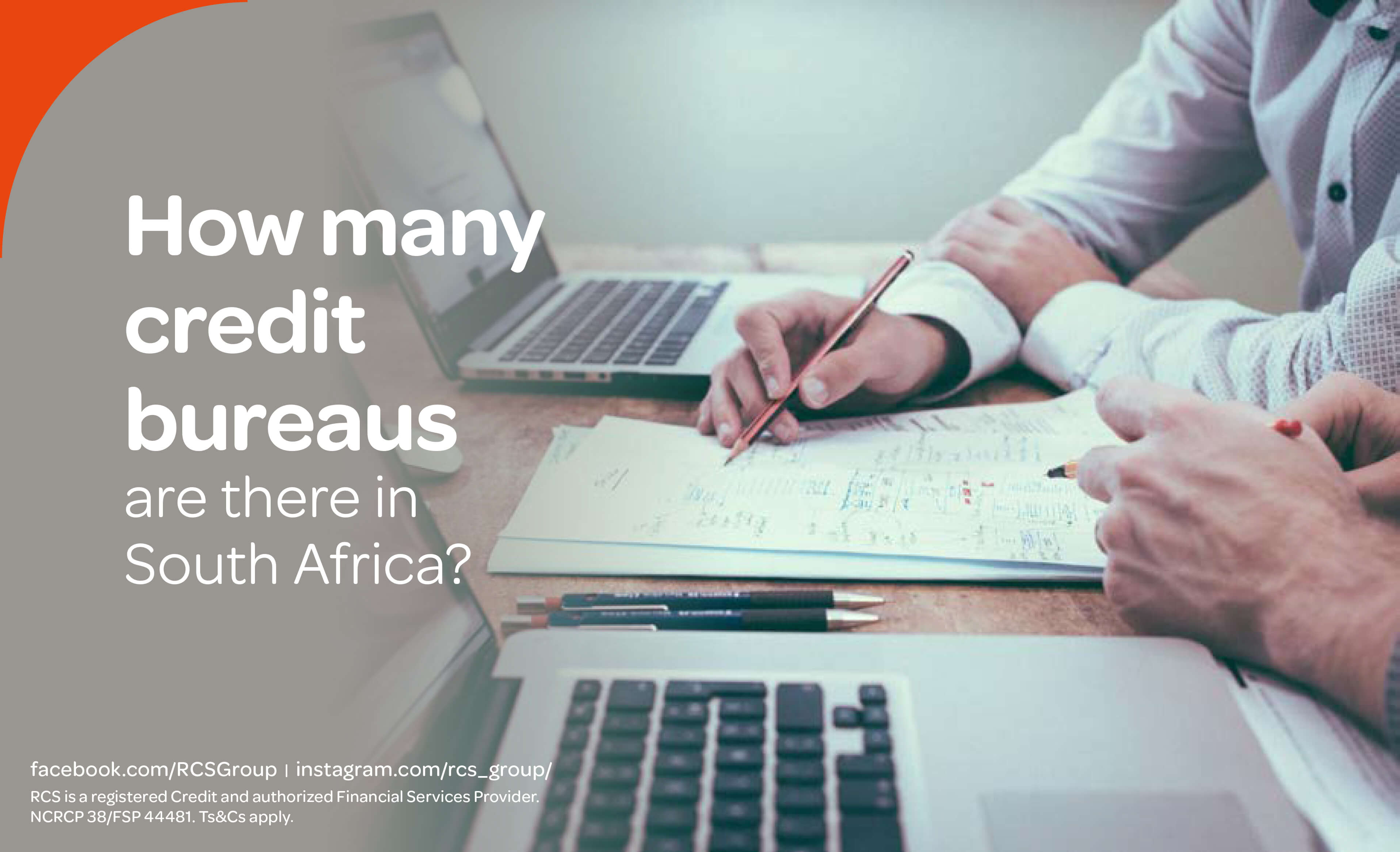 How many credit bureaus are there in South Africa? | RCS