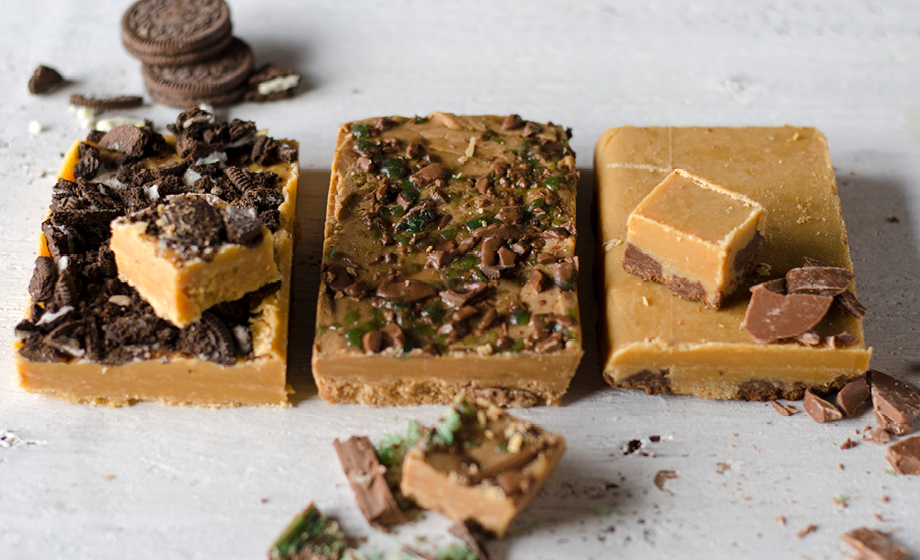 Easy microwave condensed milk fudge