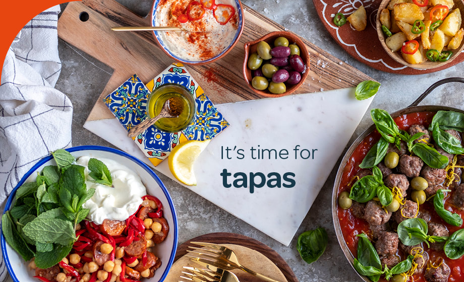 Throw a tapas dinner party