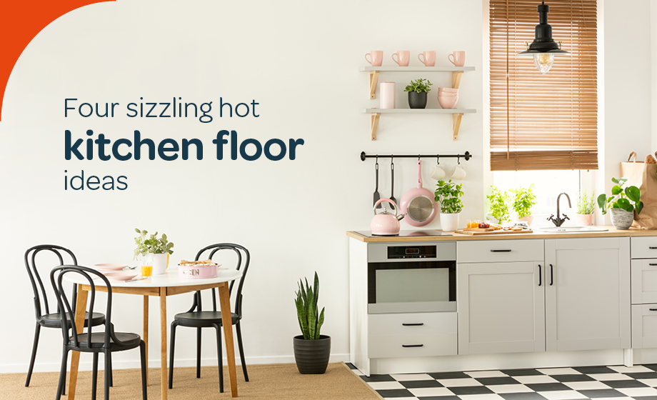 Kitchen flooring ideas to spruce up your space
