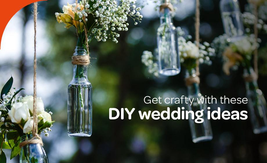 Diy Wedding Ideas To Help You Save Money