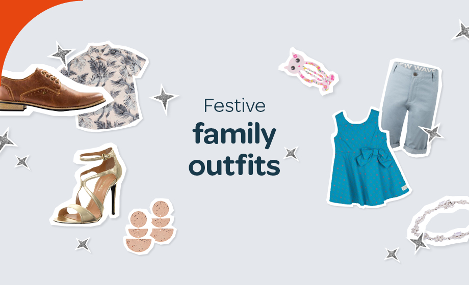 Festive family outfits