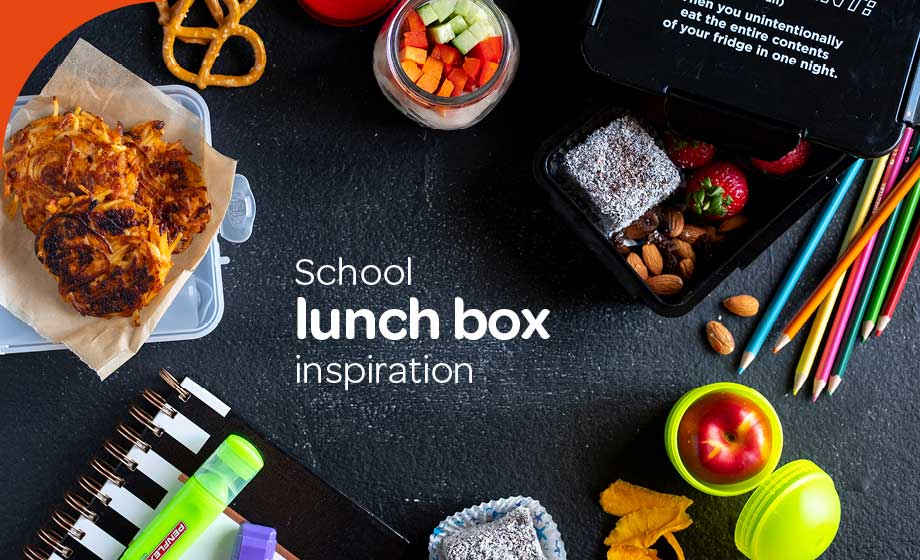 Your school lunchbox inspiration