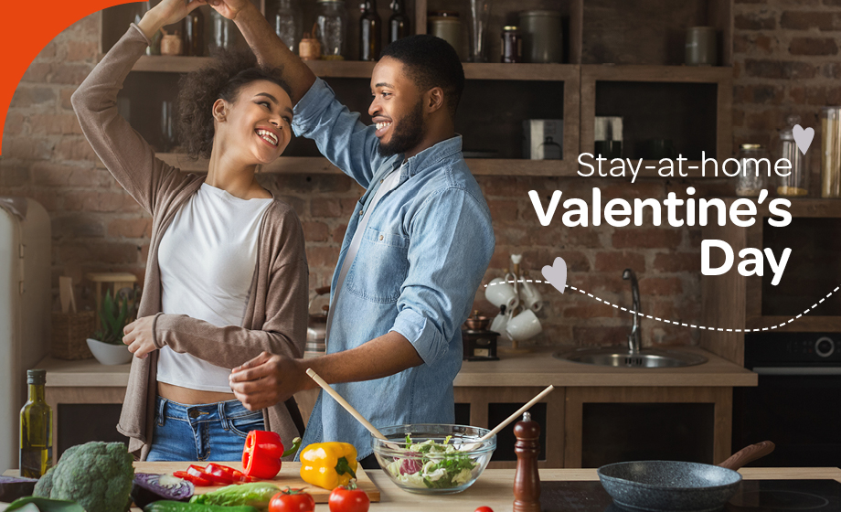 Stay-at-home Valentine's Day