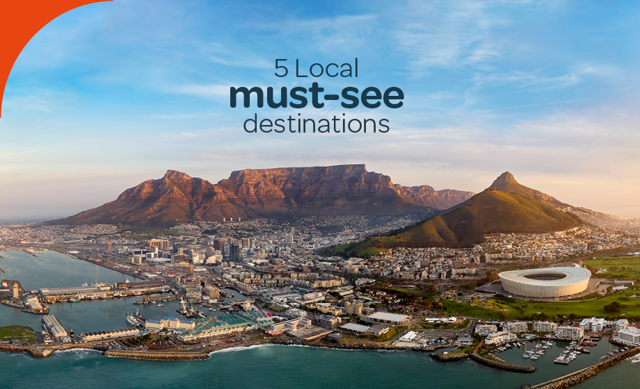 5 South African must-see local destinations