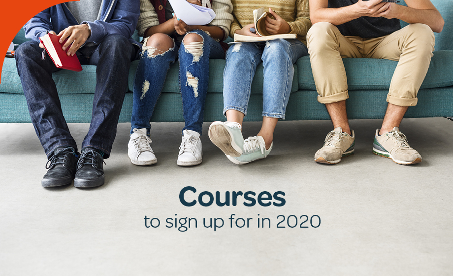 Courses to sign up for in 2020