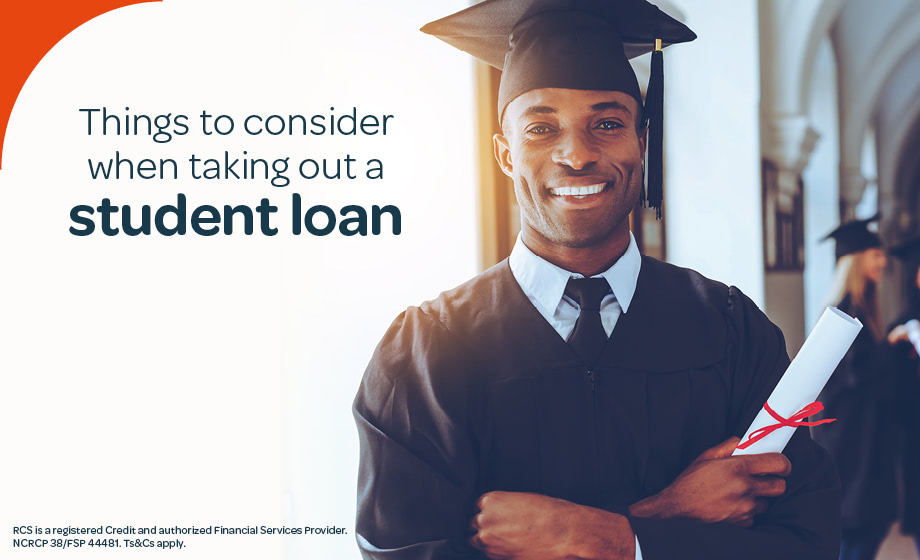 Things to consider when taking out a student loan