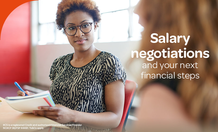 Salary negotiations and your next financial steps