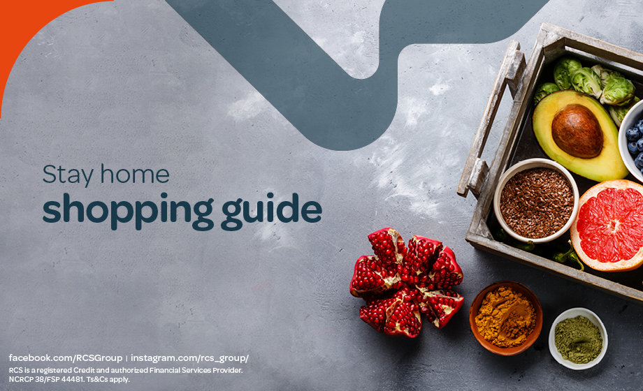 Stay home shopping guide